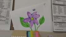 Purple flower for myself.